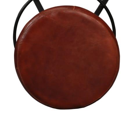 vidaXL 5 Piece Bar Set Solid Sheesham Wood and Genuine Leather[11/15]