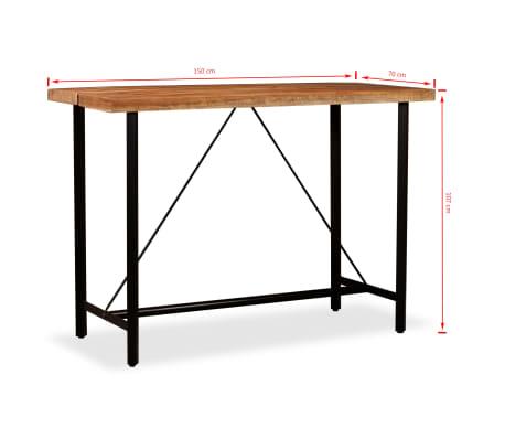 vidaXL Bar Set 7 Pieces Solid Sheesham and Reclaimed Wood[14/15]