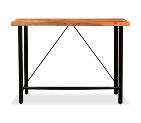 vidaXL Bar Set 7 Pieces Solid Sheesham and Reclaimed Wood[3/15]