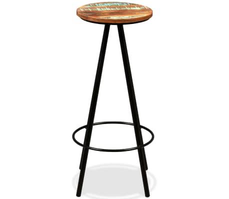 vidaXL Bar Set 7 Pieces Solid Sheesham and Reclaimed Wood[9/15]