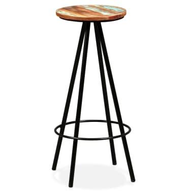 vidaXL Bar Set 7 Pieces Solid Sheesham and Reclaimed Wood[13/15]