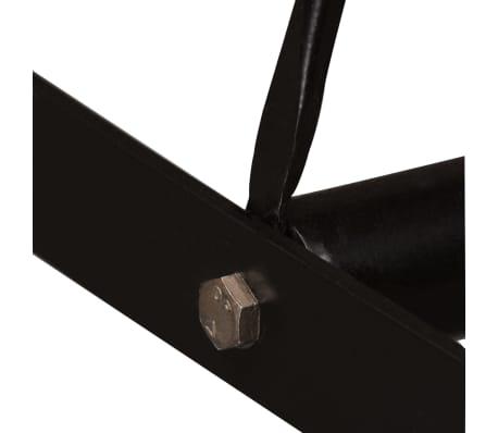 vidaXL Barska garnitura 7-delna palisander, pravo usnje & platno[5/15]
