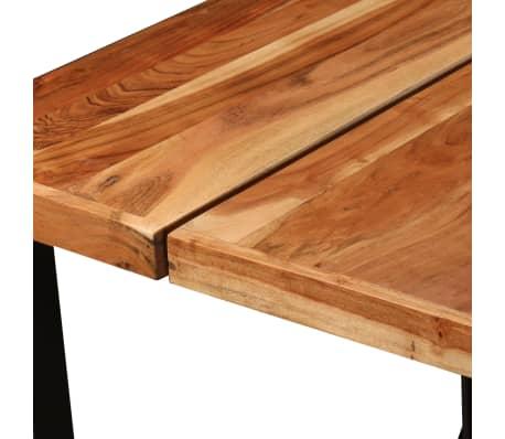 vidaXL Baro kompl., 9d., rausvosios dalbergijos ir perdirbta mediena[5/16]