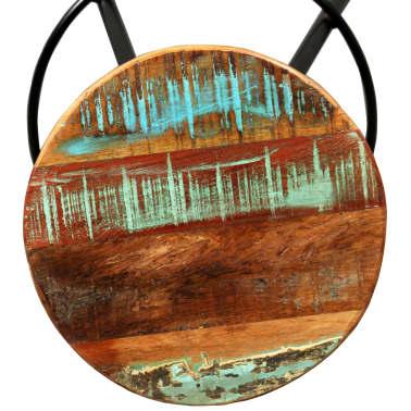 vidaXL Barska garnitura 3 delna iz trdnega predelanega lesa[12/14]