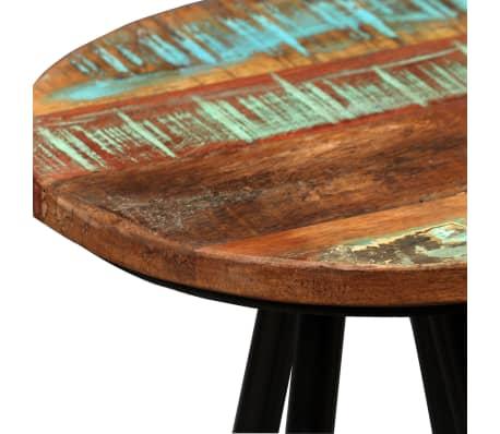 vidaXL Set de muebles de bar 5 piezas madera maciza reciclada[12/16]