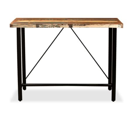vidaXL Set de muebles de bar 5 piezas madera maciza reciclada[3/16]