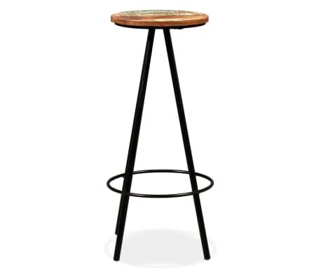 vidaXL Set de muebles de bar 5 piezas madera maciza reciclada[10/16]