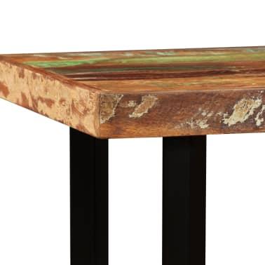 vidaXL Set de muebles de bar 5 piezas madera maciza reciclada[5/16]