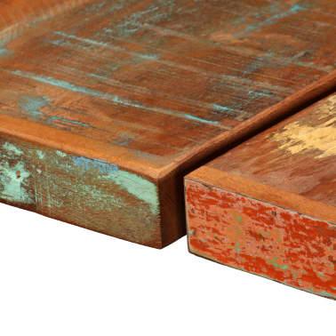 vidaXL Baro komplektas, 7d., tvirta perdirbta mediena ir tikra oda[6/18]