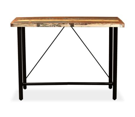 vidaXL Bar Set 7 Pieces Solid Reclaimed Wood[3/15]