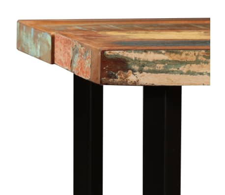 vidaXL Bar Set 7 Pieces Solid Reclaimed Wood[4/15]