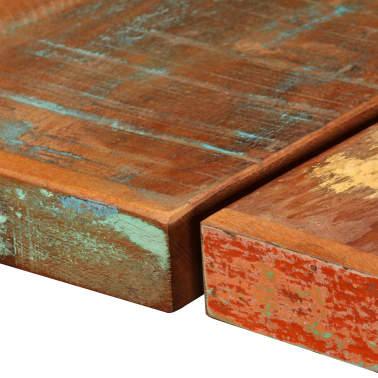 vidaXL Bar Set 9 Pieces Solid Reclaimed Wood[5/16]