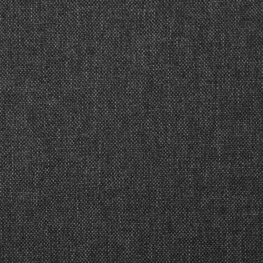 vidaXL Sillas de comedor madera maciza gris oscuro 6 unidades[6/7]