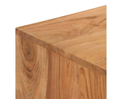 vidaXL Rašomasis stalas, akacijos medienos masyvas, 118x45x76cm[6/17]