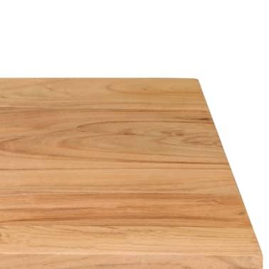 vidaXL Rašomasis stalas, akacijos medienos masyvas, 118x45x76cm[13/17]