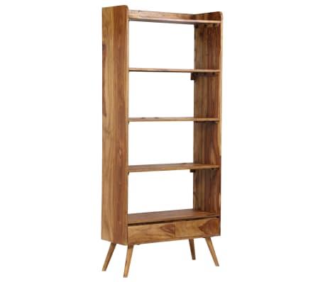 vidaXL Bibliothèque Bois massif de Sesham 75 x 30 x 170 cm