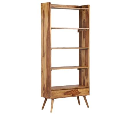 vidaXL Bibliothèque Bois massif de Sesham 75 x 30 x 170 cm[16/16]