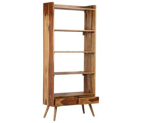vidaXL Bibliothèque Bois massif de Sesham 75 x 30 x 170 cm[3/16]