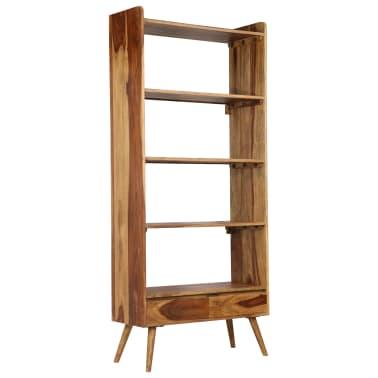 vidaXL Bibliothèque Bois massif de Sesham 75 x 30 x 170 cm[5/16]