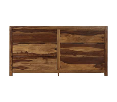 vidaXL Szafka, lite drewno sheesham, 160 x 40 x 80 cm[2/15]