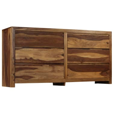 vidaXL Szafka, lite drewno sheesham, 160 x 40 x 80 cm[3/15]