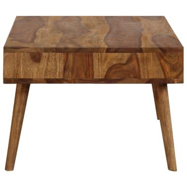 vidaXL Kavos staliukas, 110x50x35cm, rausvosios dalbergijos med. mas.[4/14]