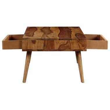 vidaXL Kavos staliukas, 110x50x35cm, rausvosios dalbergijos med. mas.[6/14]