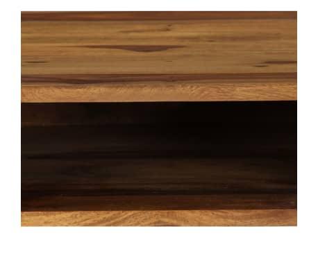 vidaXL Bureau 110 x 55 x 76 cm Bois solide de Sesham[7/13]