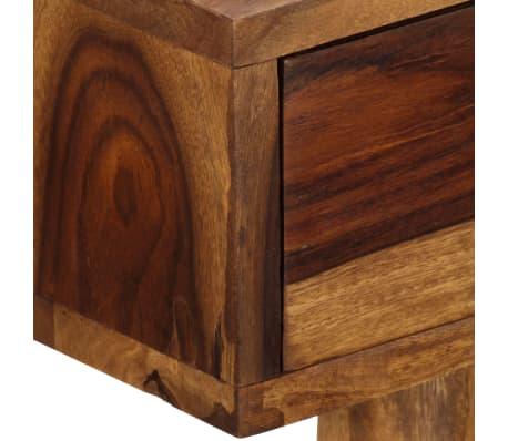 vidaXL Bureau 110 x 55 x 76 cm Bois solide de Sesham[8/13]