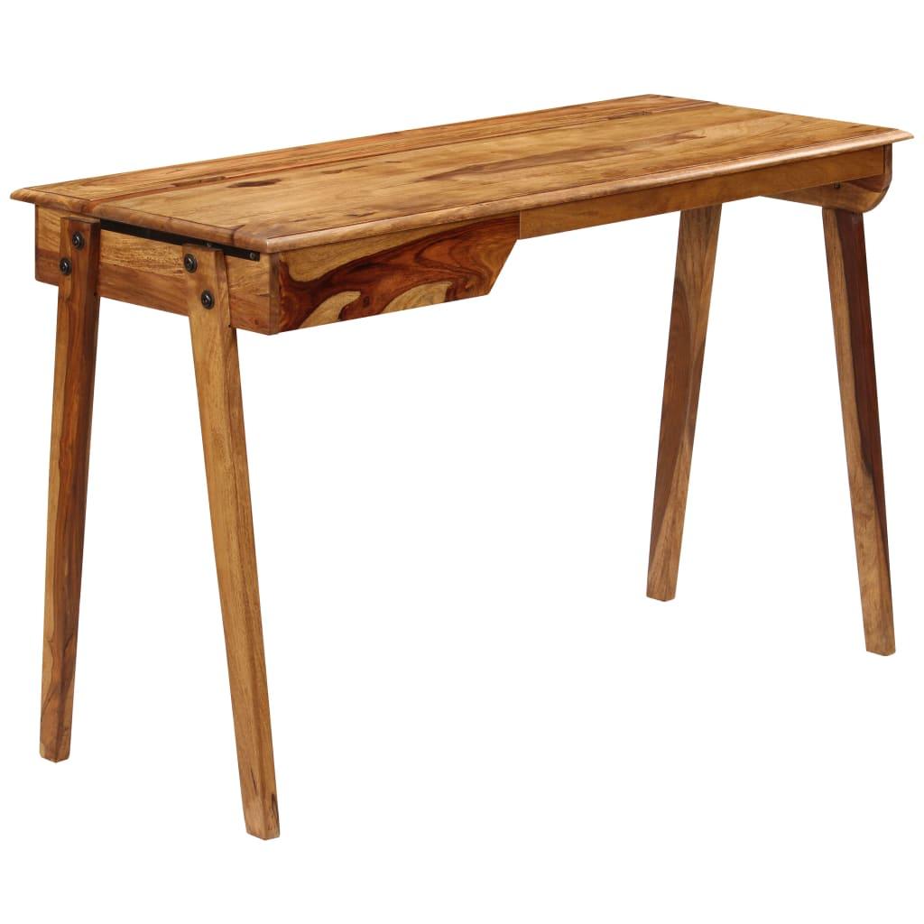 vidaXL Birou, 118 x 50 x 76 cm, lemn masiv de palisandru poza 2021 vidaXL