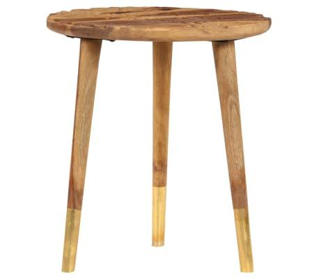 vidaXL Konferenční stolky 2 ks masivní sheeshamové dřevo[3/13]