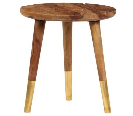 vidaXL Konferenční stolky 2 ks masivní sheeshamové dřevo[4/13]