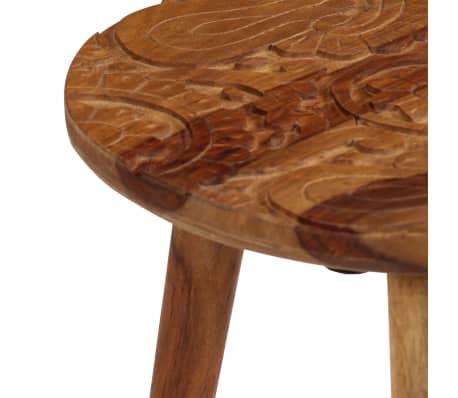 vidaXL Konferenční stolky 2 ks masivní sheeshamové dřevo[6/13]