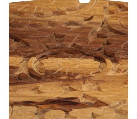 vidaXL Konferenční stolky 2 ks masivní sheeshamové dřevo[7/13]