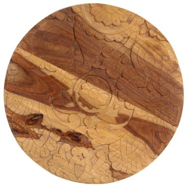 vidaXL Konferenční stolky 2 ks masivní sheeshamové dřevo[5/13]