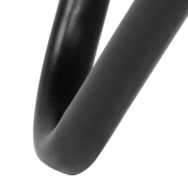 vidaXL Išskleidžiama kėdė, pilka, tikra oda[9/14]