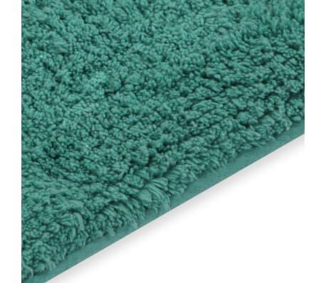 vidaXL Vonios kilimėlių rinkinys, 2d., audinys, turkio spalvos[4/5]