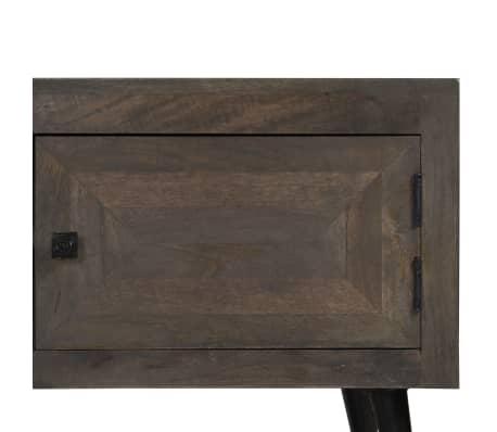 vidaXL TV spintelė, masyvi mango mediena, 140x30x45cm[7/14]