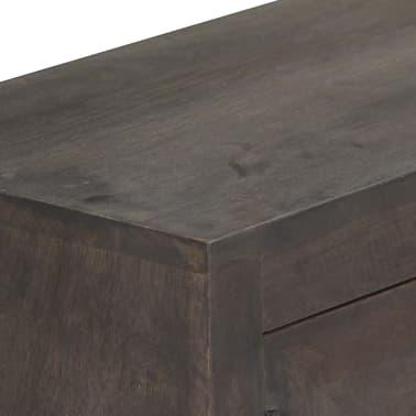 vidaXL TV spintelė, masyvi mango mediena, 140x30x45cm[6/14]