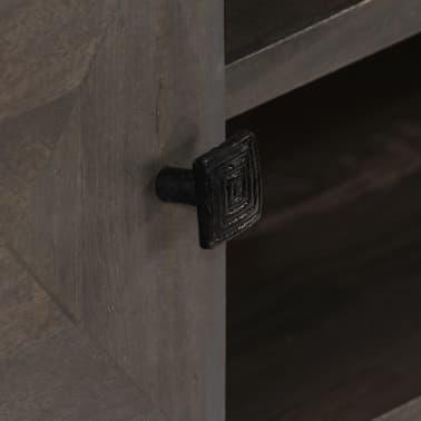 vidaXL TV spintelė, masyvi mango mediena, 140x30x45cm[8/14]