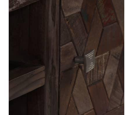 "vidaXL TV Cabinet Solid Reclaimed Wood 55.1""x11.8""x17.7""[7/15]"