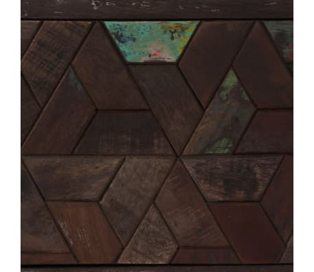 "vidaXL TV Cabinet Solid Reclaimed Wood 55.1""x11.8""x17.7""[9/15]"