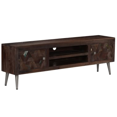 "vidaXL TV Cabinet Solid Reclaimed Wood 55.1""x11.8""x17.7""[13/15]"