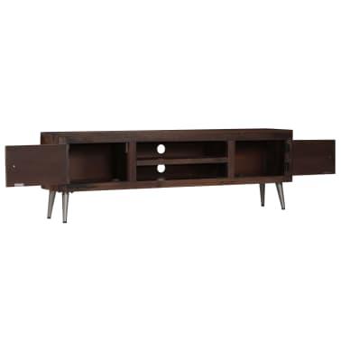 vidaXL TV spintelė, masyvi perdirbta mediena, 140x30x45cm[3/15]
