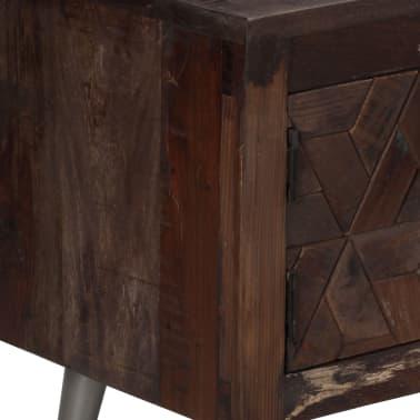 vidaXL TV spintelė, masyvi perdirbta mediena, 140x30x45cm[4/15]