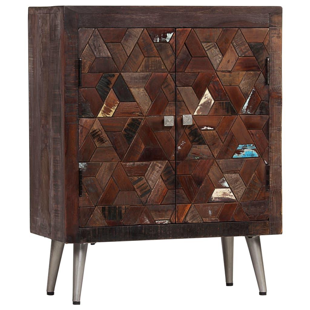 vidaXL Servantă, 60 x 30 x 76 cm, lemn masiv reciclat imagine vidaxl.ro