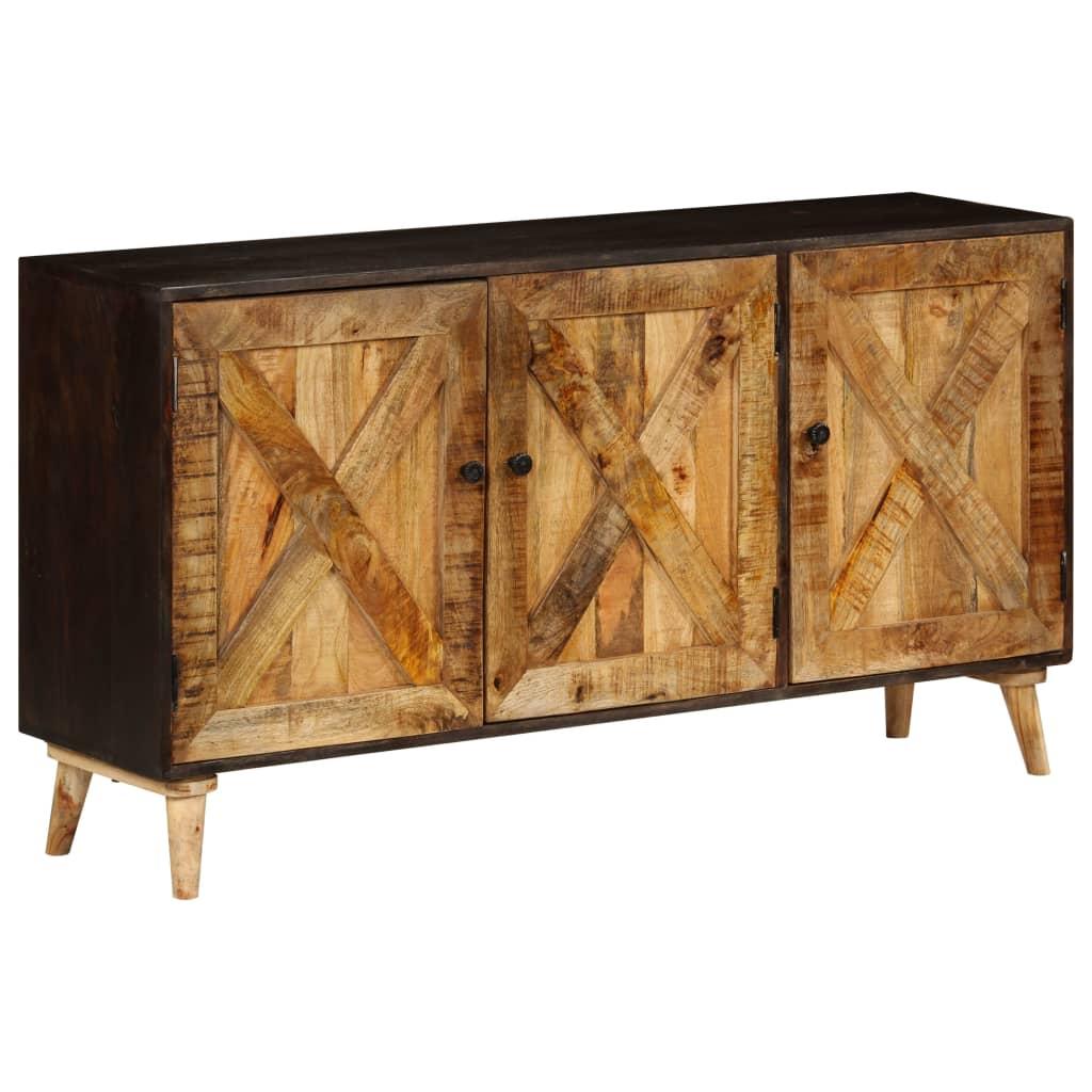 vidaXL Příborník z masivního mangovníkového dřeva 140 x 35 x 75 cm