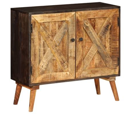vidaXL Aparador de madera maciza de mango 85x30x75 cm
