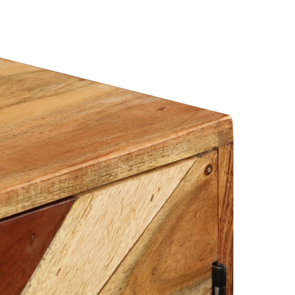 vidaXL Dressoir 85x30x75 cm massief mangohout