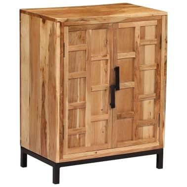 vidaXL Komoda, masyvi akacijos medienos, 60x35x76cm, ruda[11/16]